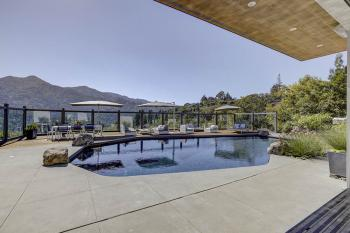 Mt. Tamalpais executive residence pool
